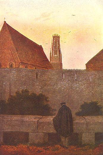 Caspar David Friedrich: An der Stadtmauer