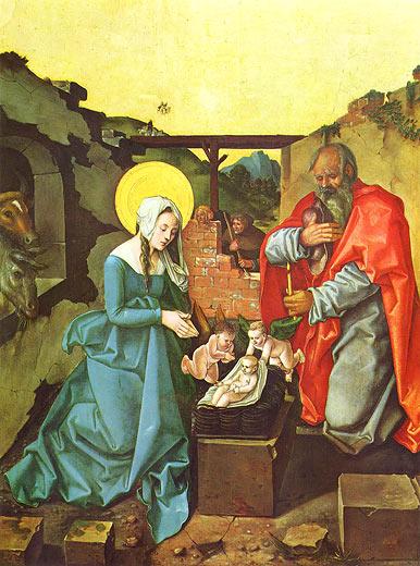 Hans Baldung: Geburt Christi