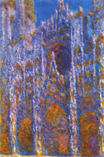 Claude Monet: Kathedrale von Rouen bei Sonnenaufgang