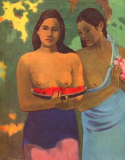 Paul Gauguin: Tahitische Frauen